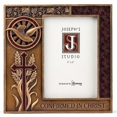 Confirmation Photo Frame - Bronzed