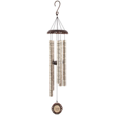 "40"" Serenity Prayer Vintage Windchime"