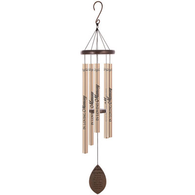 "38"" Wooden Sonnet Wind Chime - Loving Memory"