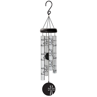 "21"" Signature Series Sonnet Wind Chime - Faith"