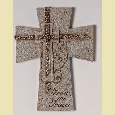 Grow in Grace Confirmation Wall Cross