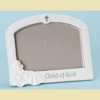 Precious Moments Baptism Frame