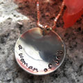 A Woman of Joy Sterling Silver Necklace Mini-Thumbnail