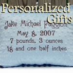 Personalized Christian Baby Gifts