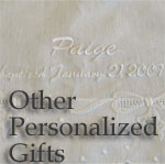 Other Personalized Gift Ideas for Baby