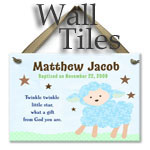 Personalized Baby Wall Tiles