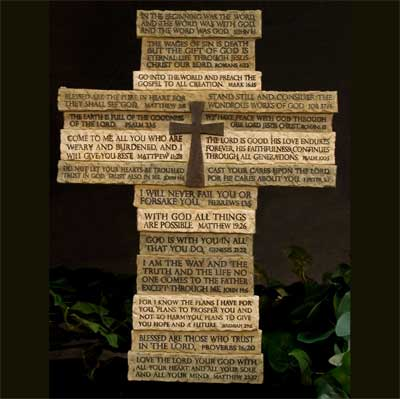 Multi-verse Scripture Wall Cross
