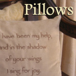 Decorative Scripture Throw Pillows