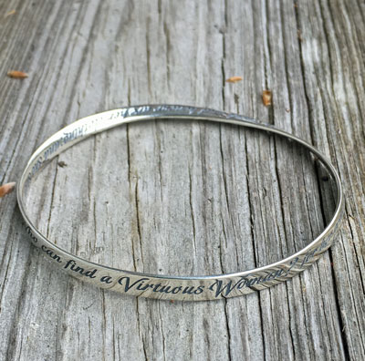 Virtuous Women Mobius Bracelet