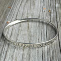 St Francis' Prayer Eternal Life Mobius Bracelet