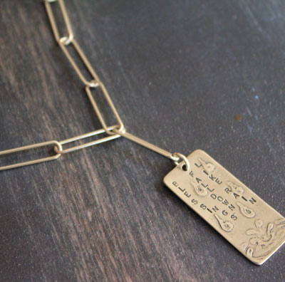 Blessings Fall Down Like Rain... Necklace