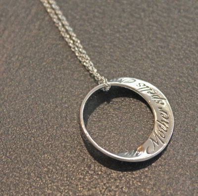 Spells Mother... Mobius Necklace