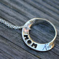 Attributes of Mom Mobius Necklace