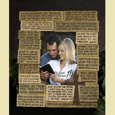 Scripture Photo Frame