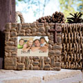 Names of Jesus on Stones Photo Frame
