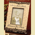 Now in God's Hands Bereavement Photo Frame