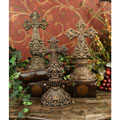 Standing Crosses - Two Sided - Set of 3