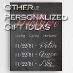 Personalized Other Gift Ideas for Mom