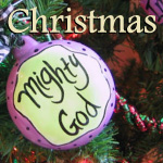 Christian Christmas Decor with Scripture