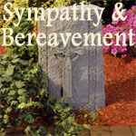 Christian Gifts for Bereavement, Sympathy and Memorials