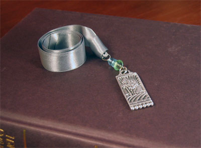 Pewter 'Quiet Time' Bookmark by Cynthia Webb