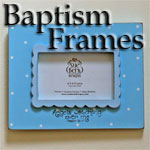 Baby Baptism Photo Frames
