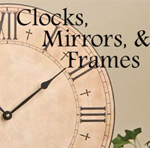 Inspirational Clocks, Mirros and Frames with scripture