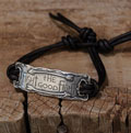 Fight the Good Fight… Sterling Silver Bracelet