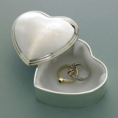 Heart Trinket Box - Personalized