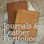 Journals & Leather Portfolios