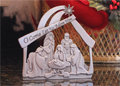 Nativity Standing Plaque