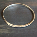 Ten Commandments Mobius Bracelet Mini-Thumbnail