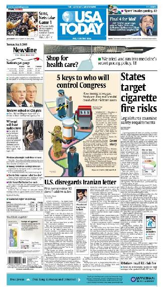 05/09/2006 Issue of USA TODAY