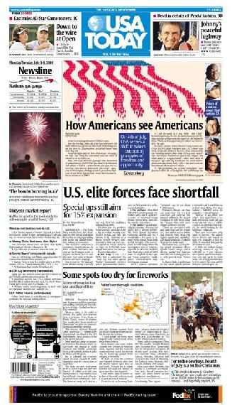 07/03/2006 Issue of USA TODAY