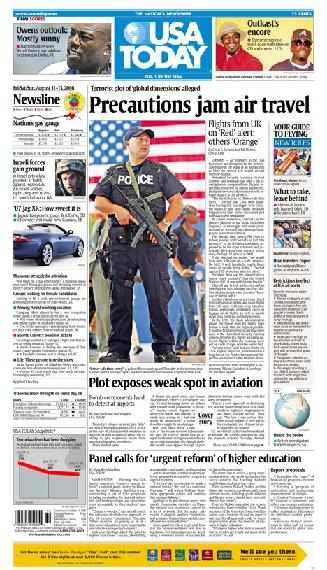 08/11/2006 Issue of USA TODAY