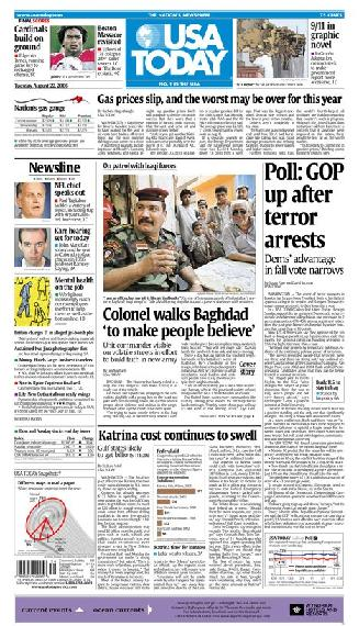08/22/2006 Issue of USA TODAY
