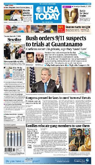 09/07/2006 Issue of USA TODAY
