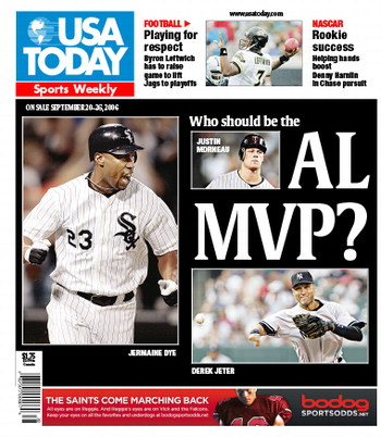 09/20/2006 Issue of Sports Weekly