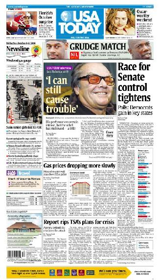 10/06/2006 Issue of USA TODAY
