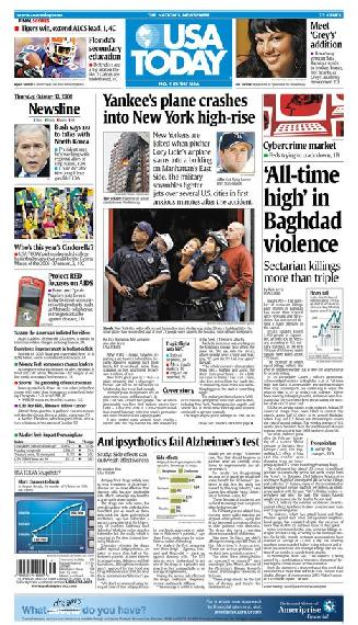 10/12/2006 Issue of USA TODAY