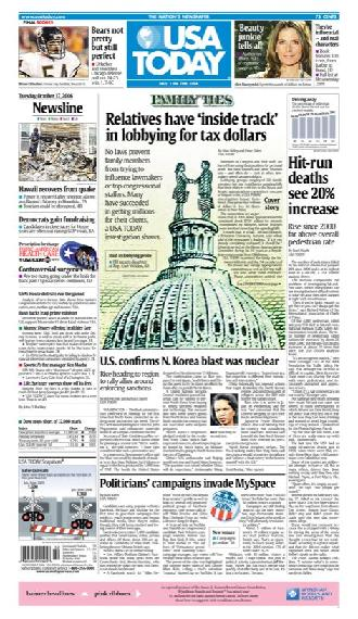 10/17/2006 Issue of USA TODAY