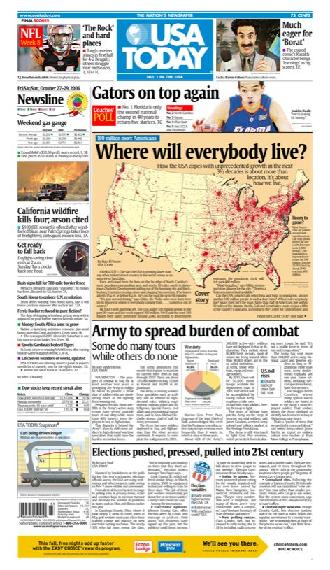 10/27/2006 Issue of USA TODAY
