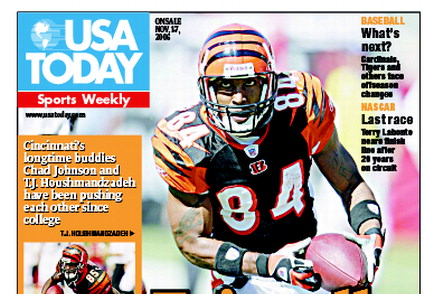 11/01/2006 Issue of Sports Weekly