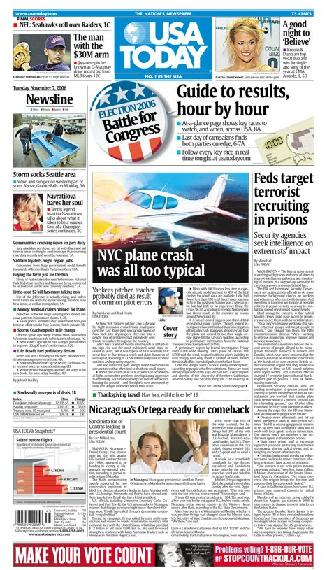 11/07/2006 Issue of USA TODAY