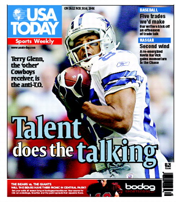 11/08/2006 Issue of Sports Weekly
