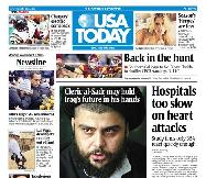 11/13/2006 Issue of USA TODAY