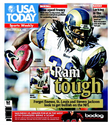 11/15/2006 Issue of Sports Weekly