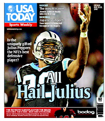 11/22/2006 Issue of Sports Weekly