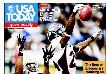 11/29/2006 Issue of Sports Weekly