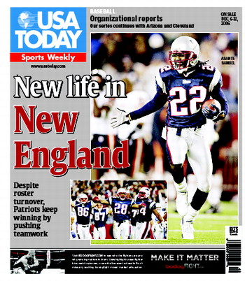 12/06/2006 Issue of Sports Weekly